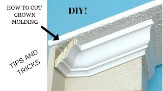 CROWN MOLDING (HOW TO CUT)