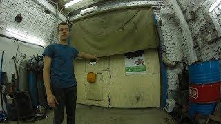 Как сделать шторы в гараже своими руками