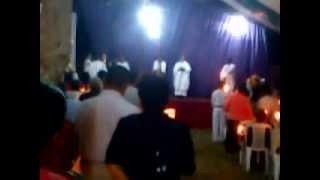 preview picture of video 'Pregón Pascual Camino Neocatecumenal - Vigilia Pascual 2013 - Acayucan Ver. Mexico'
