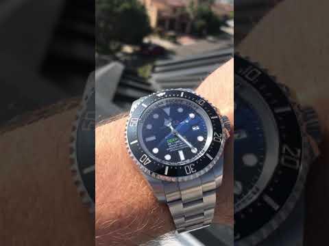 Rolex Deepsea Sea-Dweller James Cameron 116660 On The Wrist