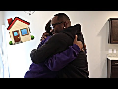 SURPRISING MY PARENTS WITH THEIR DREAM HOME!! (EMOTIONAL)
