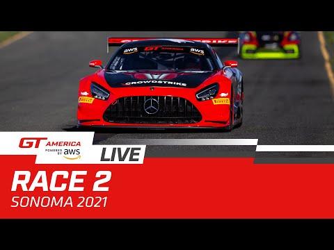 ブランパンGTワールドチャレンジ・アメリカ(ソノマ)GT レース2 無料ライブ配信動画