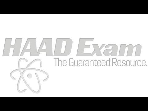 HAAD Exam Questions - YouTube