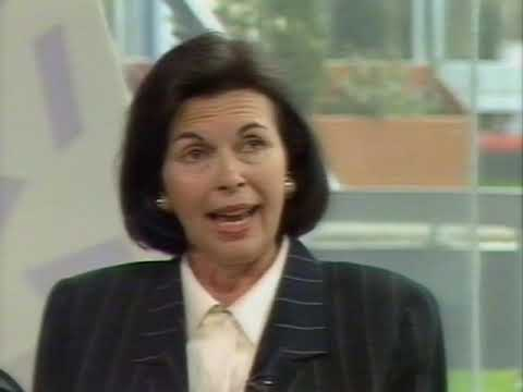 Clifford Thurlow and Iris Gioia on Pebble Mill