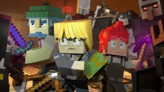 """♪ """"Fight For My Life""""   A Minecraft Original Music Video  Song ♪"""