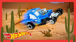 "HOT WHEELS BAJA BLAZERS™ In ""TIME IN THE SAND"" 🌵 | Hot Wheels"