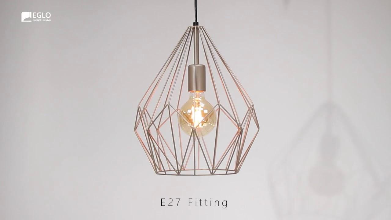 Подвесной светильник Eglo Carlton 49934