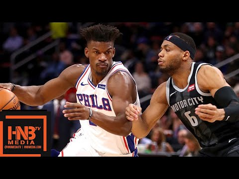Philadelphia Sixers vs Detroit Pistons Full Game Highlights | 12.07.2018, NBA Season