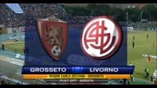 preview picture of video 'Grosseto-Livorno 2-0 (07-06-2009)'