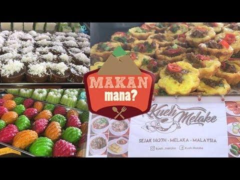 Lebih 20 jenis kueh tradisional Melaka