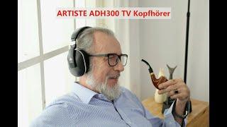 ARTISTE ADH300 TV Kopfhörer Verwendung und Fehlerbehebung