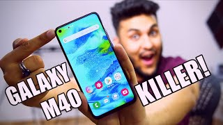 SAMSUNG GALAXY M40 UNBOXING: Punch Hole Camera!!