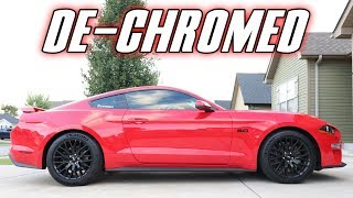 Fix Your 2018-2019 Mustang GT Exterior With This EASY MOD!