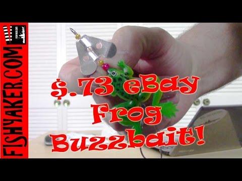 $.73 eBay Chinese Frog Buzzbait Fishing Lure: Episode 432