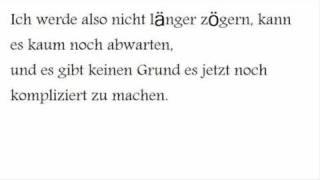Im Yours Jason Mraz German