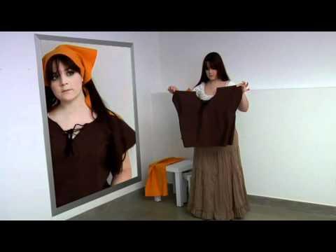 Cómo hacer de campesina medieval
