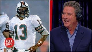 Dan Marino shares Super Bowl advice for Rams, praises 'incredible' Brady, Patriots | Golic & Wingo