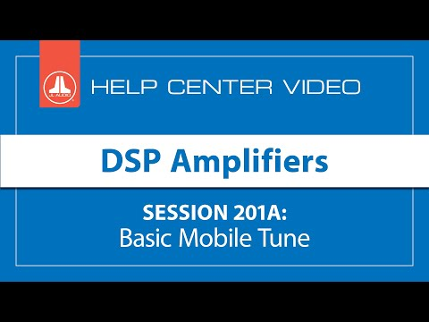 [Live] JL Audio Online Training About DSP Amplifiers - Session ...