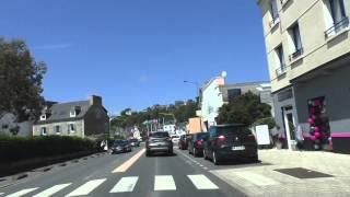 preview picture of video 'Driving On Boulevard du Gén Leclerc & Avenue du Général de Gaulle, 22520 Binic, France'