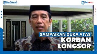 Jokowi Sampaikan Dukacita Mendalam atas Korban Jiwa dalam Bencana Longsor di Sumedang