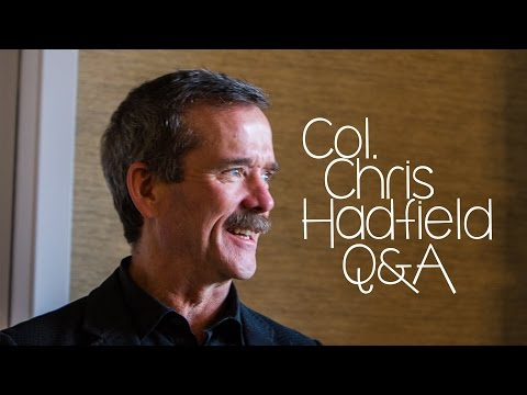 Former Astronaut Chris Hadfield Explains How To Take Photos In Space