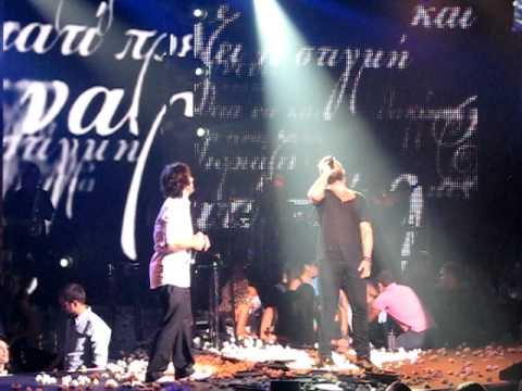 Giorgos Mazonakis  Fettah Can- Ela na deis   Ozledim live   Thalassa  People s Stage dc4d0dec3a2