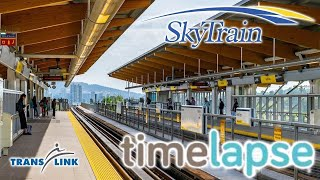 Vancouver Skytrain Timelapse - From Surrey King George To Vancouver Waterfront 6x Speed
