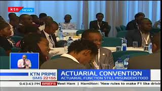 Actuarial convention goes on in the country