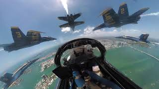 U.S. Navy Blue Angels - Miami- Operation America Strong