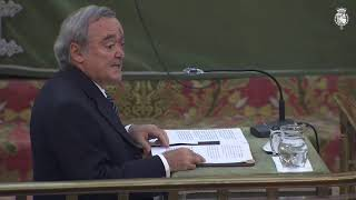 """Entrega de la """"Medalla Echegaray"""" a Mariano Barbacid"""