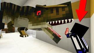ОГРОМНЫЙ ДИНОЗАВР ВЫРОС В СЕКРЕТНОЙ ЛАБОРАТОРИИ ПОД ДОМОМ ЗА 1 000 000 000 ДОЛЛАРОВ В Minecraft
