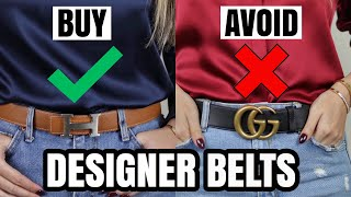 Best Designer Belts - BUY These, AVOID These! *super Helpful* | Ft. Gucci, Hermes, LV, Lilysilk