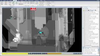 Haas UMC 750 Machine Tool CNC Simulation With VERICUT