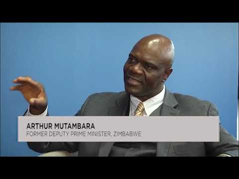 Arthur Mutambara talks tough about Zimbabwe crisis, sanctions and Mnangagwa dialogue – VIDEO