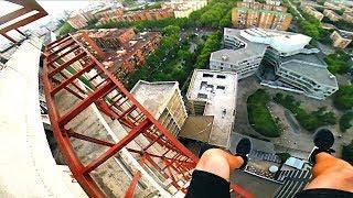 Eksploracja opuszczonego wieżowca w Barcelonie - 100 metrów