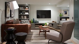 Interior Design — Small Family Basement