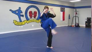 Sensei Cory - Crescent Kick