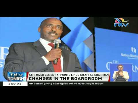 Athi River cement appoints Linus Gitahi as chairman