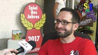 Interview mit Pegasus Spiele - Peter Berneiser Bad Nauheim Spielt 2018 (Spiel doch mal...!)