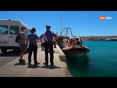 ازدياد  كبير في عدد المهاجرين التونسيين الذين وصلوا إيطاليا منذ بداية هذا العام