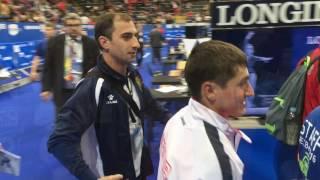 Artur Avetisyan silver medalist of junior European Championship of Gymnastics