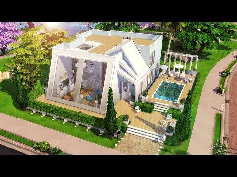 JOGO BASE - RESIDÊNCIA SUNLIGHT│Base Game Family Home│The Sims 4 (Speed Build)