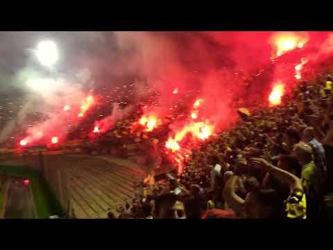 """""""Recibimiento Peñarol vs Naciomal clásico de verano 22/1"""" Barra: Barra Amsterdam • Club: Peñarol"""