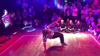 WASABEATS Bboy Crew - breakdance showcase at ROCK WHAT YOU GOT! 2018 [Edinburgh Festival Fringe]
