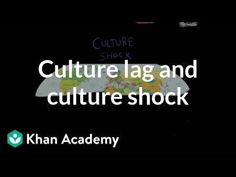 Culture lag and culture shock (video) | Khan Academy