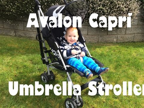 HOLIDAY STROLLER PICK; AVALON CAPRI UMBRELLA STROLLER