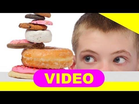 Reducción de azúcar en la sangre en los niños