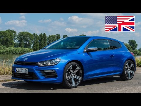 2014 Volkswagen VW Scirocco R Facelift Start Up, Exhaust, Test Drive, and In-Depth Car Review