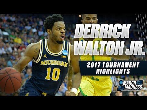 2017 NCAA Tournament - Michigan's Derrick Walton Jr.
