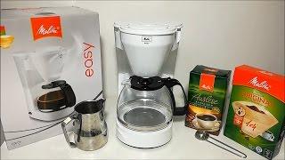 Melitta 1010-02 bk Easy Kaffeefiltermaschine